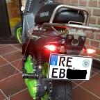 50cc Roller über Freiwillige Zulassung auf Amtl.Kennzeichen