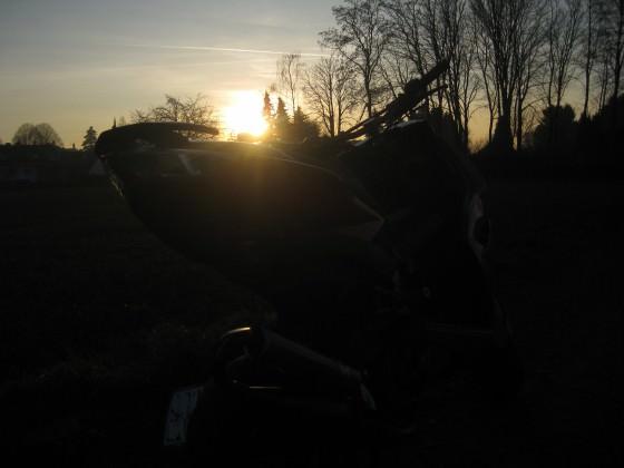 Mal das Wetter genutzt, Roller geputzt und Fotos gemacht :)