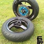 Felgen/Reifen/Bremsscheibe