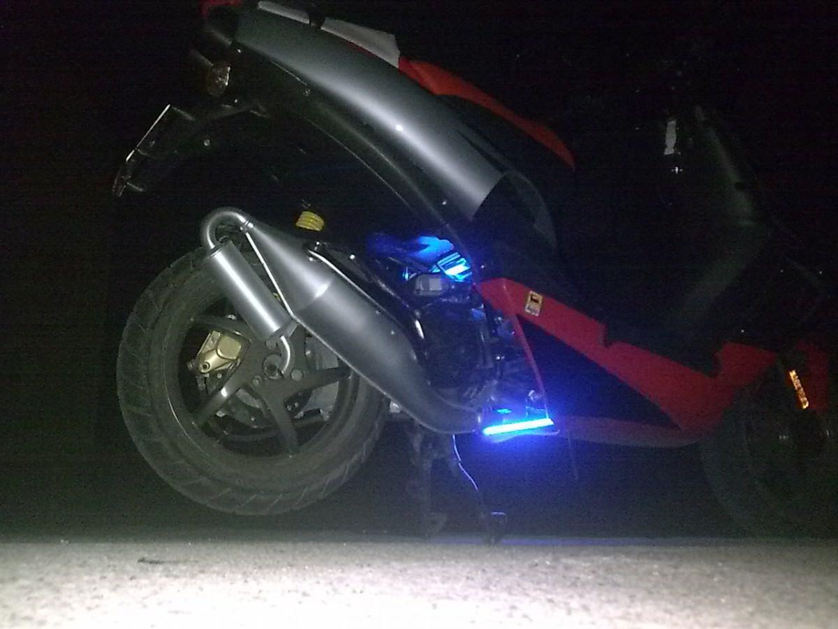 Roller Unterbodenbeleuchtung