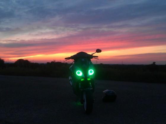 Schöner Sonnenuntergang :)