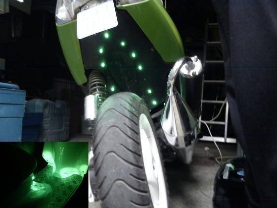 LED's vom Jog-R angeschlossen