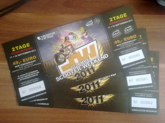 SaWe 2011 Karten